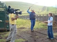 BBC filming at Parker Ranch