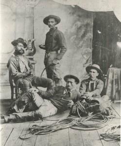 Samuel Parker with Ebeneezer Parker